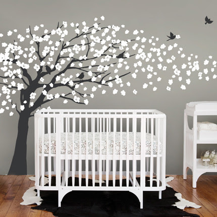 Modern Nursery Decor : Find Wall Art, Decals, Murals, Mobiles ...