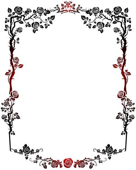 Pin by Alfaith Poblete on B&F Flowery   Clip art, Frame