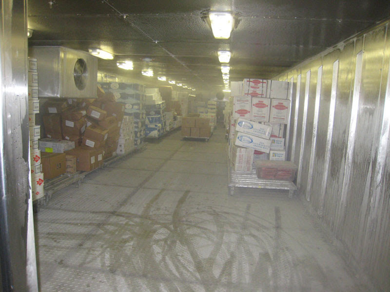 Allure of the seas food storage rooms (4)