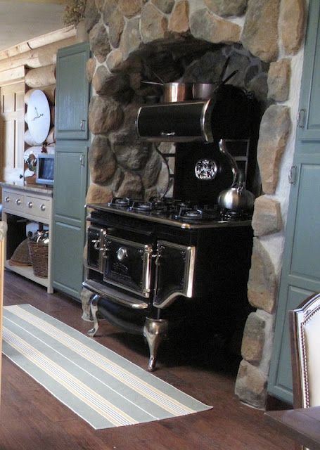 Vintage Wood Cook Stove