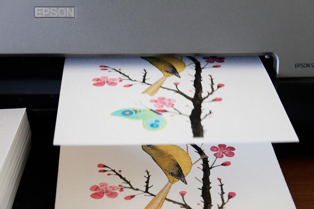 my 'ol printer chigging along