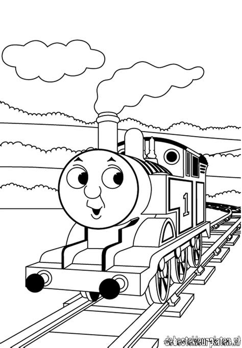 Thomas And Friends Coloring Pages - GetColoringPages.com