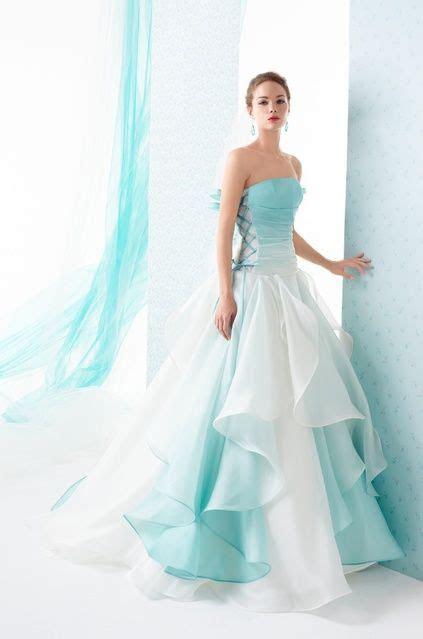 25  best ideas about Teal Wedding Dresses on Pinterest