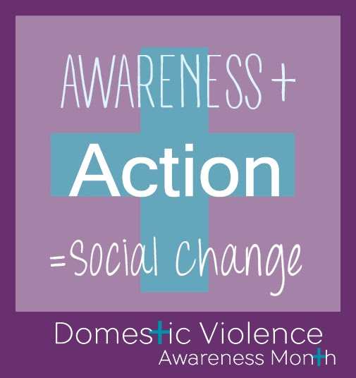 Domestic Violence Awareness Month 2015 Logo
