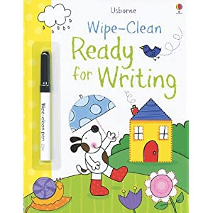 Ready for Writing [With Marker] (Usborne Wipe-Clean)