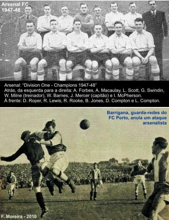... com uma vitória (3-2) que assombrou o Mundo. Araújo foi um dos  jogadores em destaque. Este equipamento manteve-se até 1950 a467cc2557b42