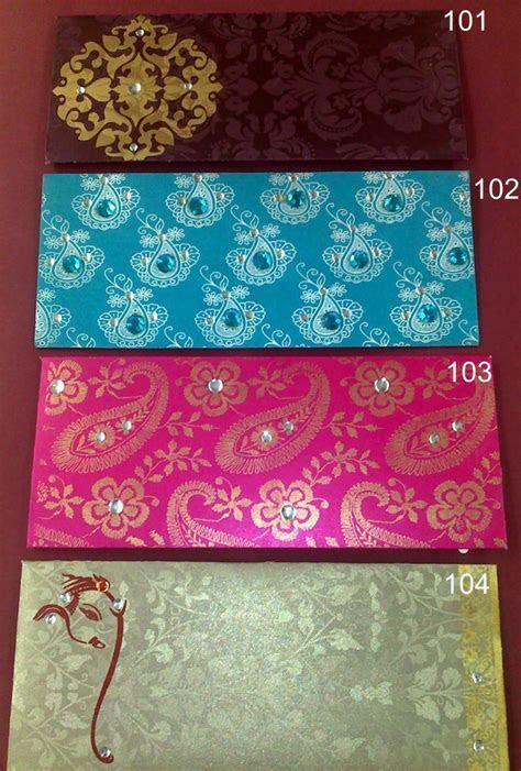 Classic Designer Wedding Cards & Stationery   Money Envelopes