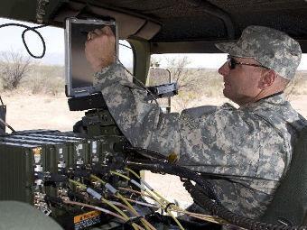 Мобильный узел связи JTRS GMR. Фото с сайта boeing.com