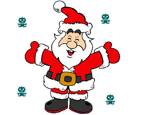 Dibujo De Navidad Papa Noel Navidad Magica 2019