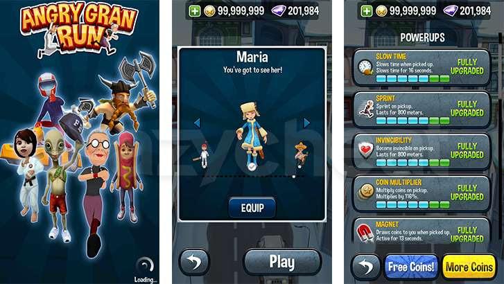 Angry Gran Run - Running Game v1.59