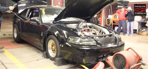 terminator cobra pushes  hp  dyno mustangforums