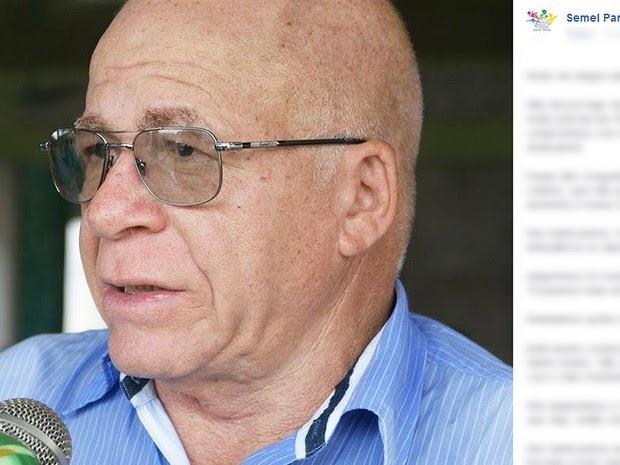 Prefeito de Goianésia do Pará é morto a tiros durante velório