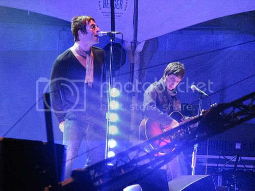 Oasis at Virgin Festival 2008: photo by Michael Ligon