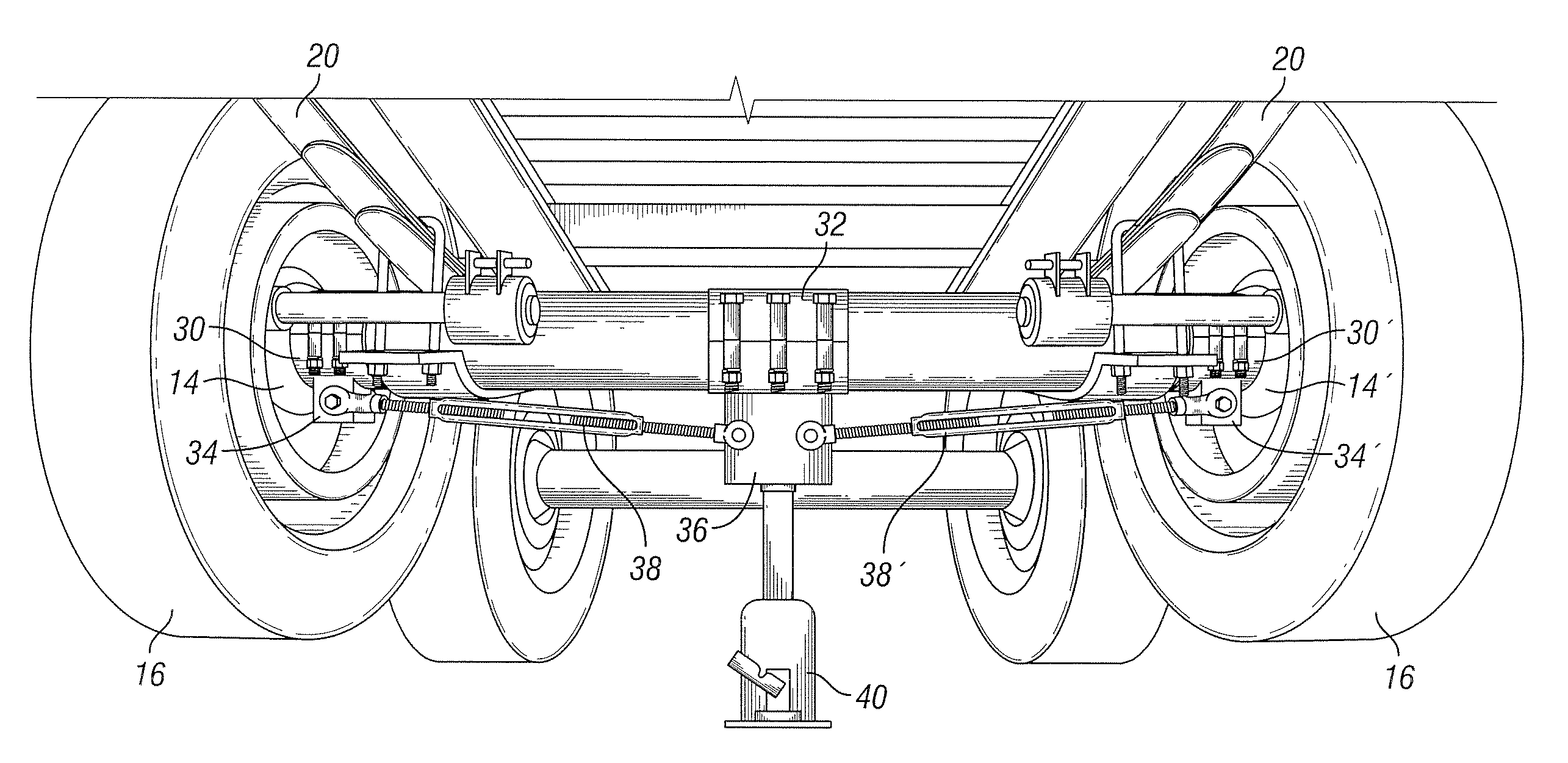 Brevet Us8333015 Method For Adjusting Axle Camber