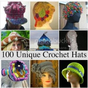 100 Unique Crochet Hats by Crochetconcupiscence photo unique-crochet-hats-300x300-2.jpg