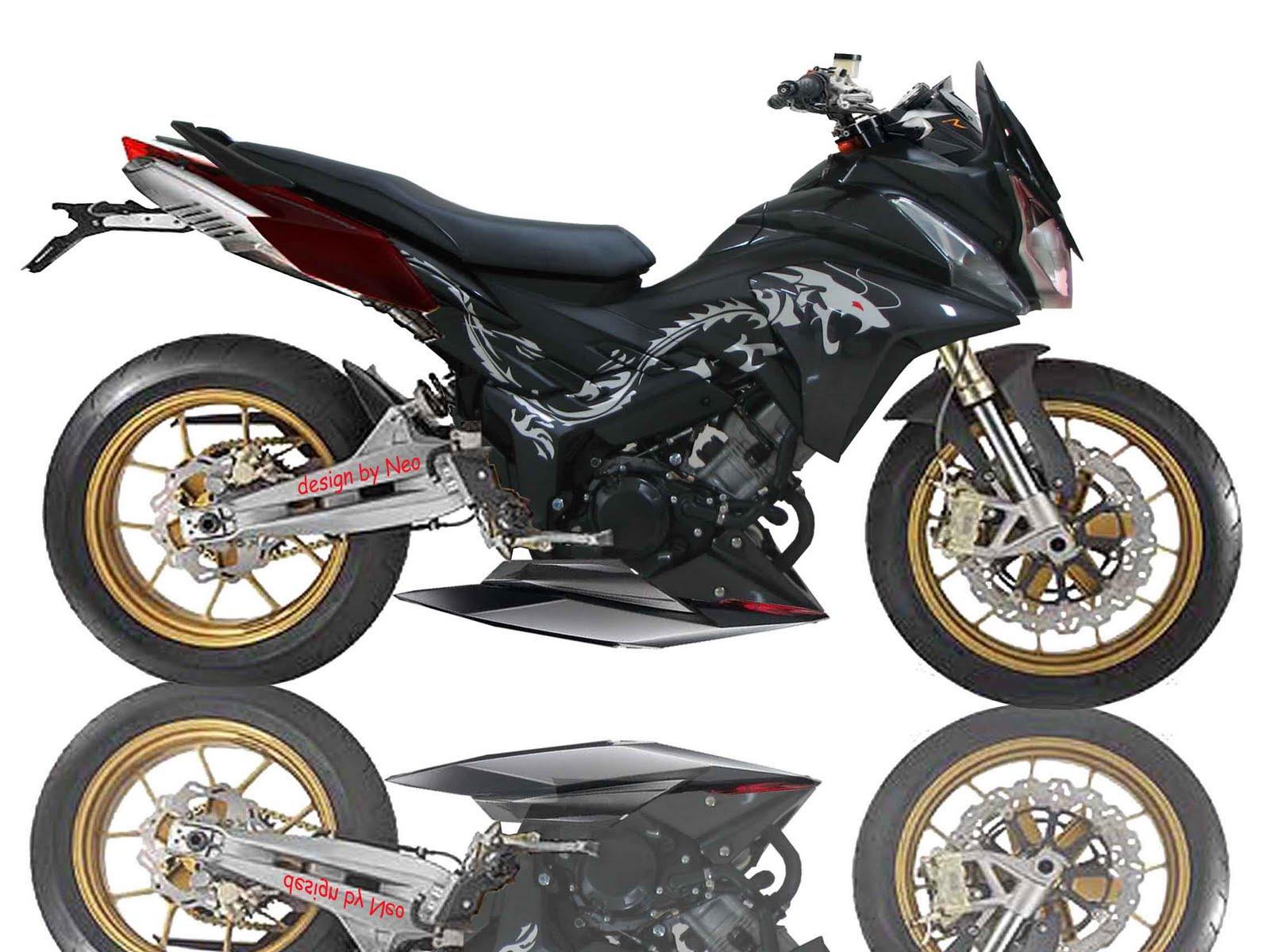Download Gambar Motor Modifikasi Motor Terbaru