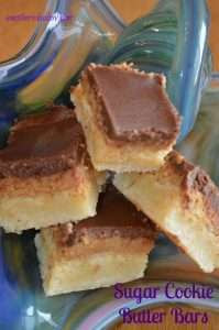 Sugar Cookie Butter Bars