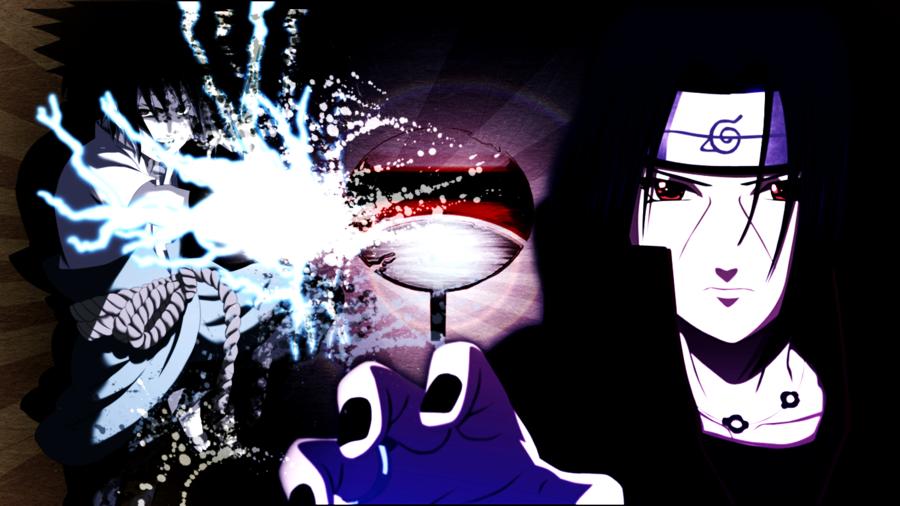 Sasuke vs Itachi Wallpaper - WallpaperSafari