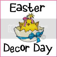 Easter Decor Day