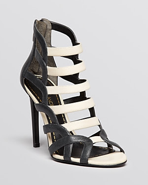 Enzo Angiolini Brien High Heel Open Toe Sandals