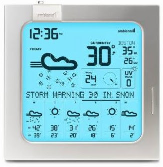 Ambient Devices 7-Day Weather Forecaster - Review