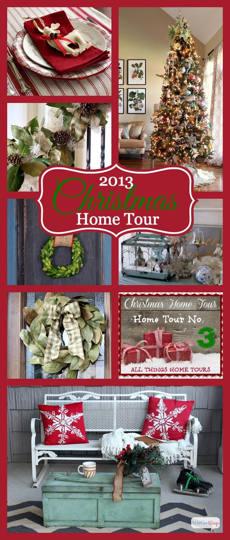 2014 Christmas Home Decor  Tour  Atta Girl Says