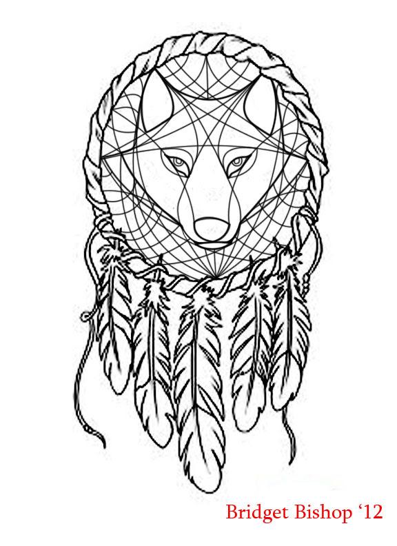 Dreamcatcher Wolf design by AshesOfTheSage on DeviantArt