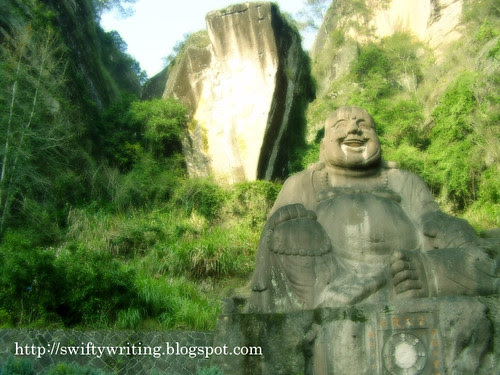 Laughing Buddha Statue At Wuyishan