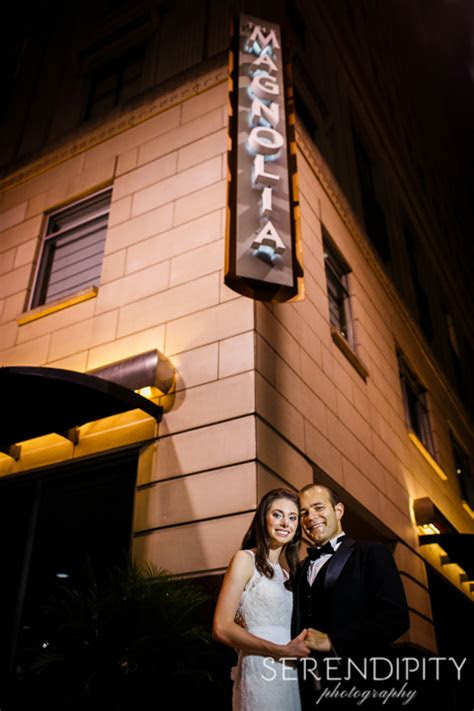 historic downtown houston wedding  magnolia hotel
