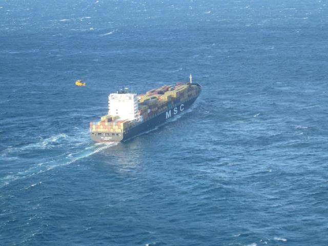 msc monterey evacuation
