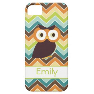 Owl {chevron} iPhone Case iPhone 5 Case