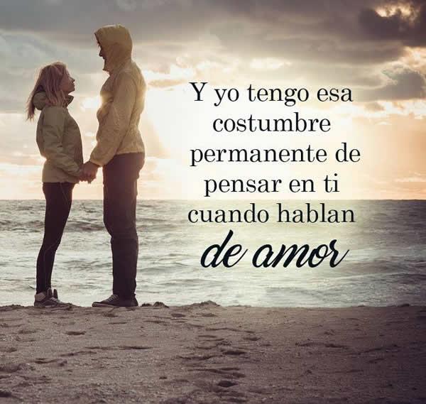 Frases De Cuando Pienso En Ti Amor Alos80 Com