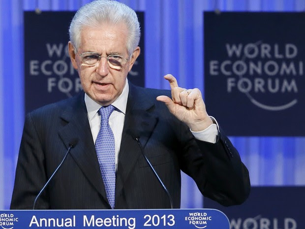 O primeiro-ministro da Itália, Mario Monti (Foto: Pascal Lauener/Reuters)