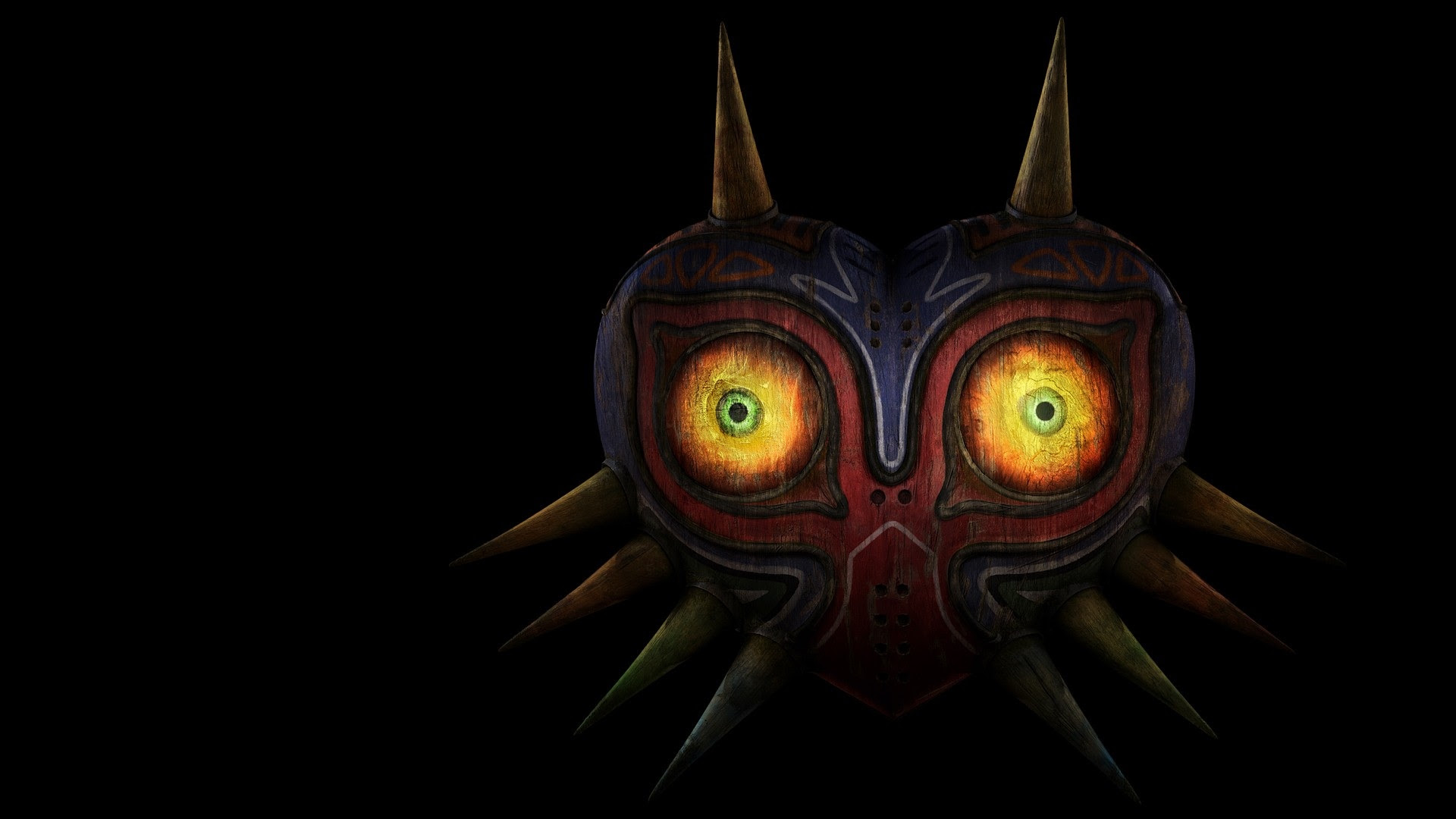 1920x1080 The Legend Of Zelda Mask Desktop Pc And Mac Wallpaper