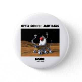 Interior de Open Source Martian (duque y Rover) Botón