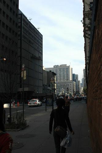 Church Street, looking North toward Ground Zero