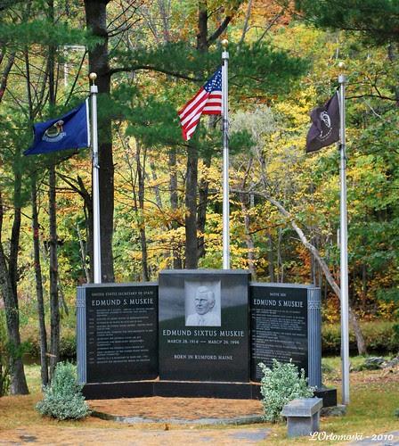 Memorial to Edmund Muskie