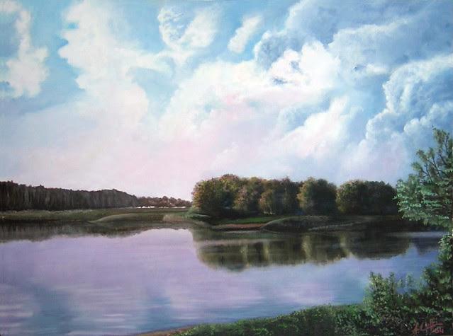 Nuvole sul Po