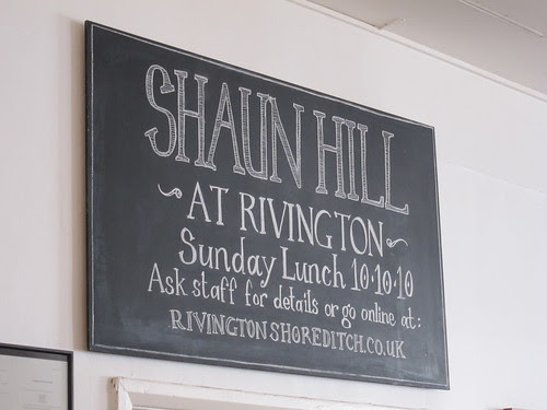 Shaun Hill at the Rivington Grill