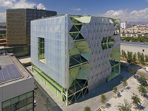 Edificio Media-TIC, 22@, Barcelona, Spain