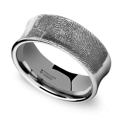 engraving mens wedding bands  ways