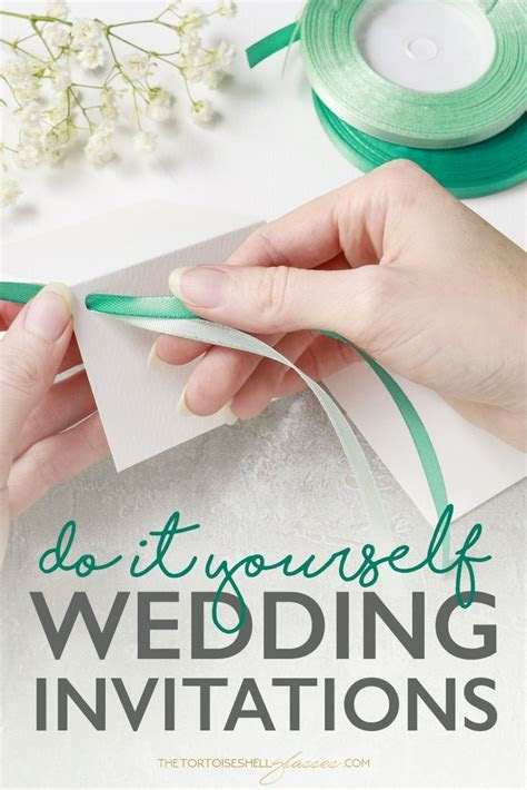 How I made my own wedding invitations and SAVED   Wedding