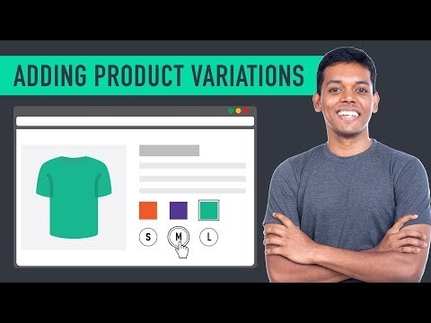 How to Add a Variable Product