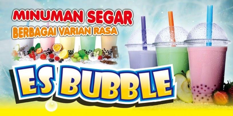 Desain Banner Minuman Boba - desain spanduk keren