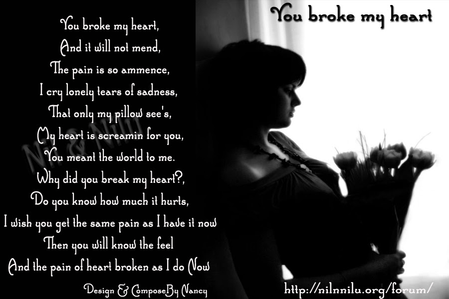 Quotes About Breaking My Heart 65 Quotes