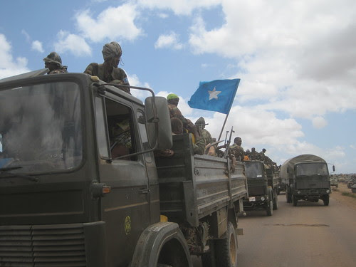 US-backed forces of the Somalia Transitional Federal Government and AMISOM enter the town of Wanlaweyn. The Horn of Africa nation is being occupied by imperialism utilizing proxy forces from the region. by Pan-African News Wire File Photos