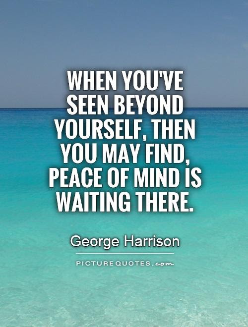 Quotes About Finding Peace 70 Quotes