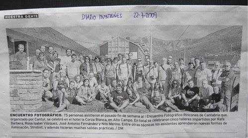 1º Encuentro fotográfico Rincones de Cantabria (Diario Montañés)