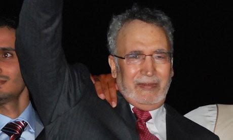 Lockerbie bomber Abdelbaset al-Megrahi arrives back in Tripoli two years ago.