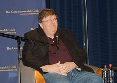 Michael Moore talking about Capitalism: A Love...
